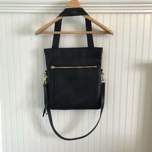 Vince Camuto black tote bag